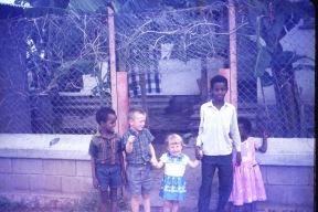 Tim, Esther and Ethiopian Children 1968=69